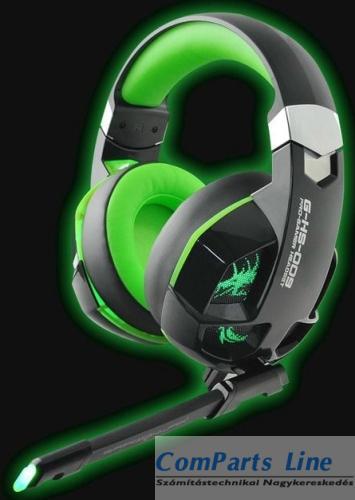 Dragon War Imperial Gamer mikrofonos fejhallgató G-HS-009  26023 Gyártói  Cikkszám  G-HS-009. Garancia  12 hónap. Gyártó  Dragon War Leírás  bea4c5efef